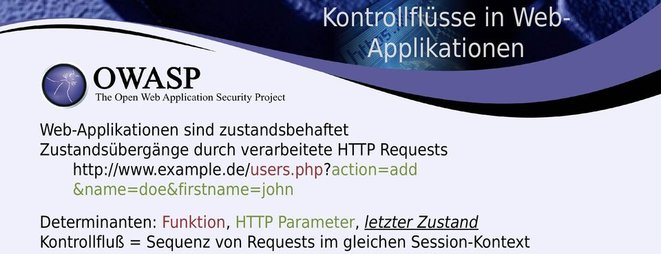 php?action=add &name=doe&firstname=john Determinanten: Funktion, HTTP
