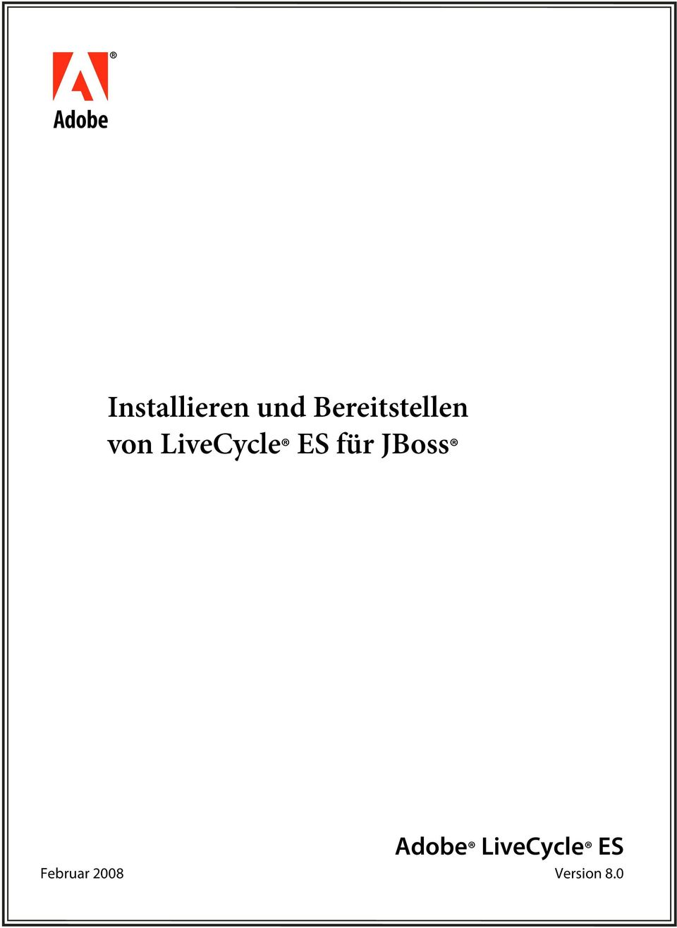 LiveCycle ES für JBoss