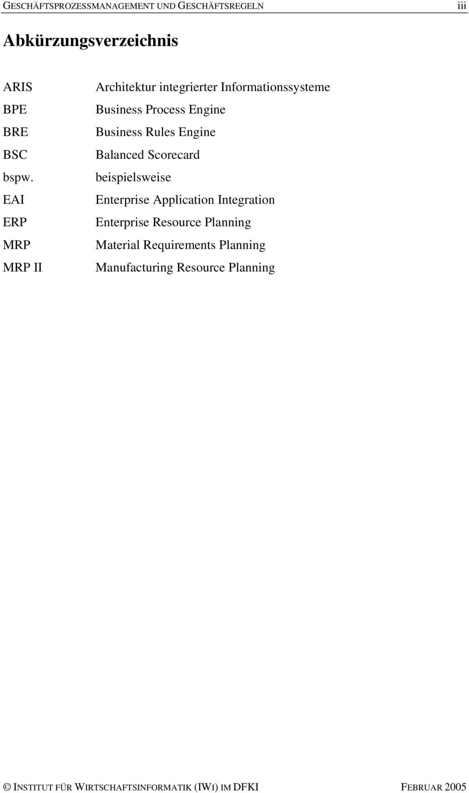 Engine Business Rules Engine Balanced Scorecard beispielsweise Enterprise Application