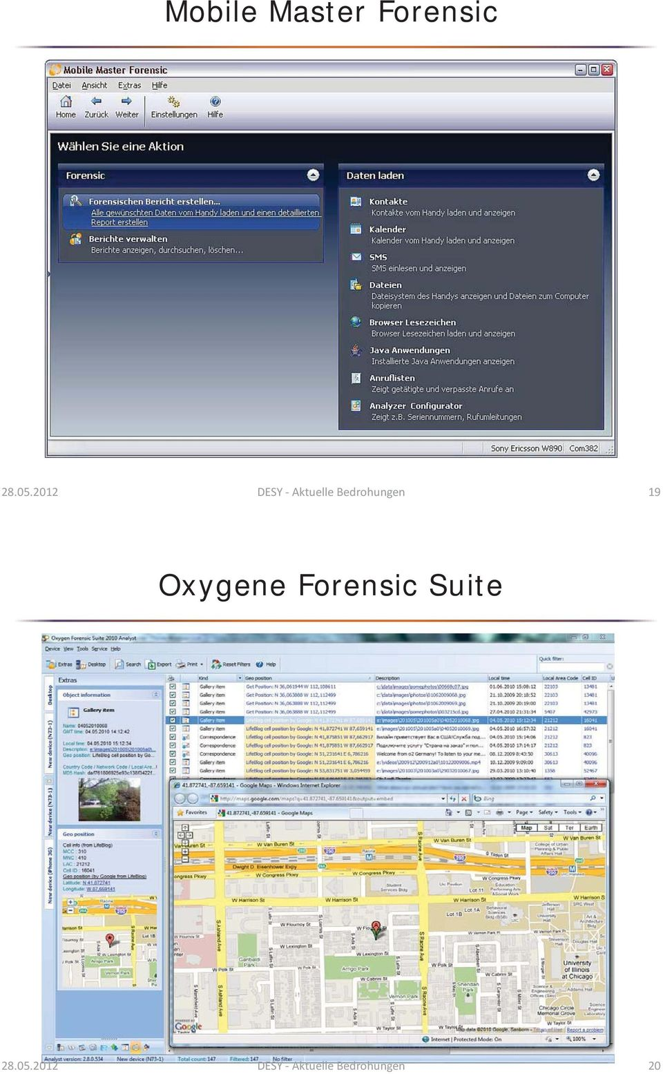 19 Oxygene Forensic Suite 28.05.