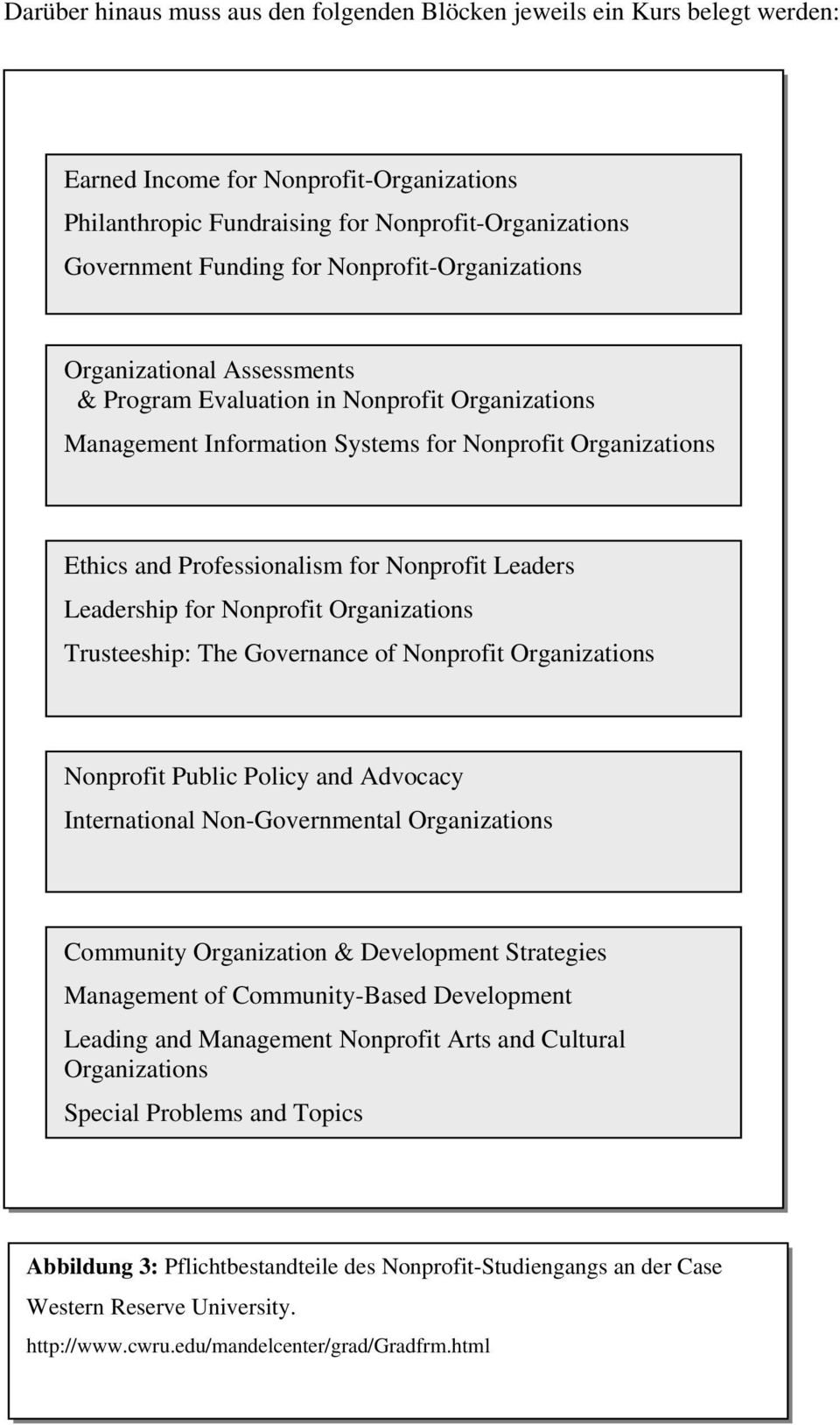Leaders Leadership for Nonprofit Organizations Trusteeship: The Governance of Nonprofit Organizations Nonprofit Public Policy and Advocacy International Non-Governmental Organizations Community