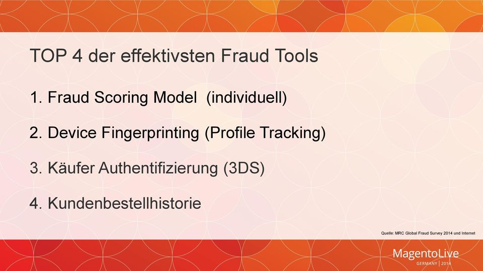 Device Fingerprinting (Profile Tracking) 3.