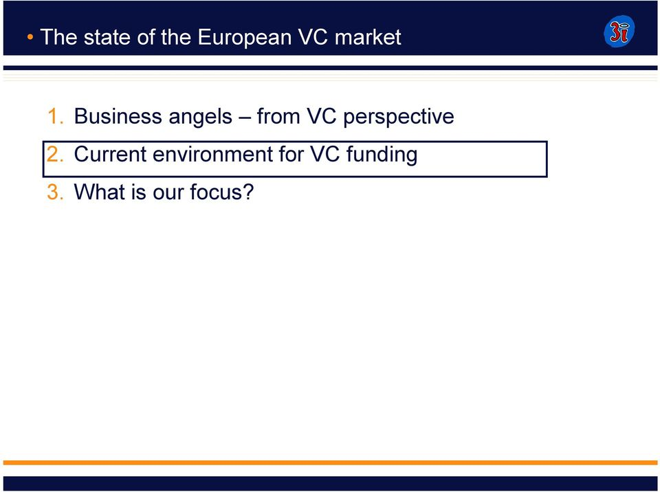 Business angels from VC
