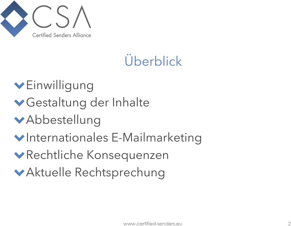 Internationales E-Mailmarketing!