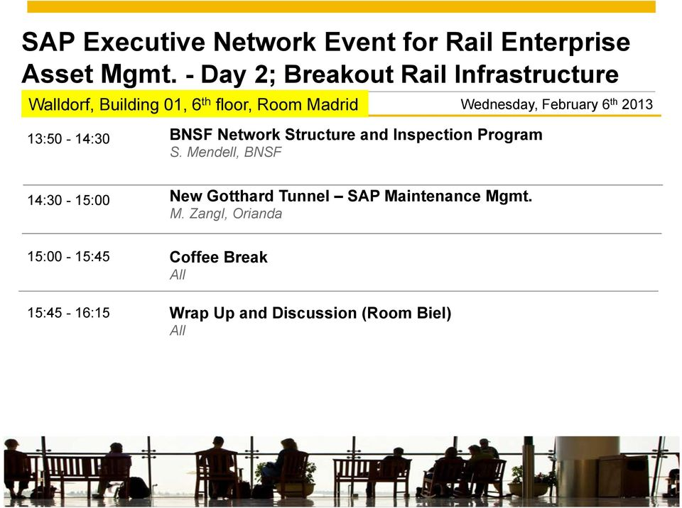 th 2013 13:50-14:30 BNSF Network Structure and Inspection Program S.