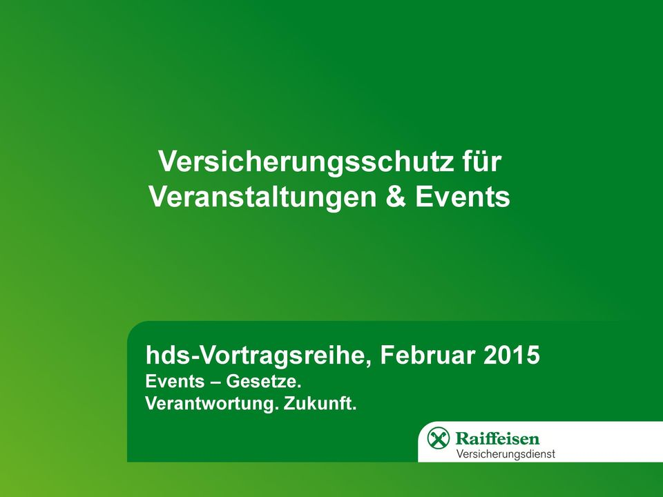 hds-vortragsreihe, Events