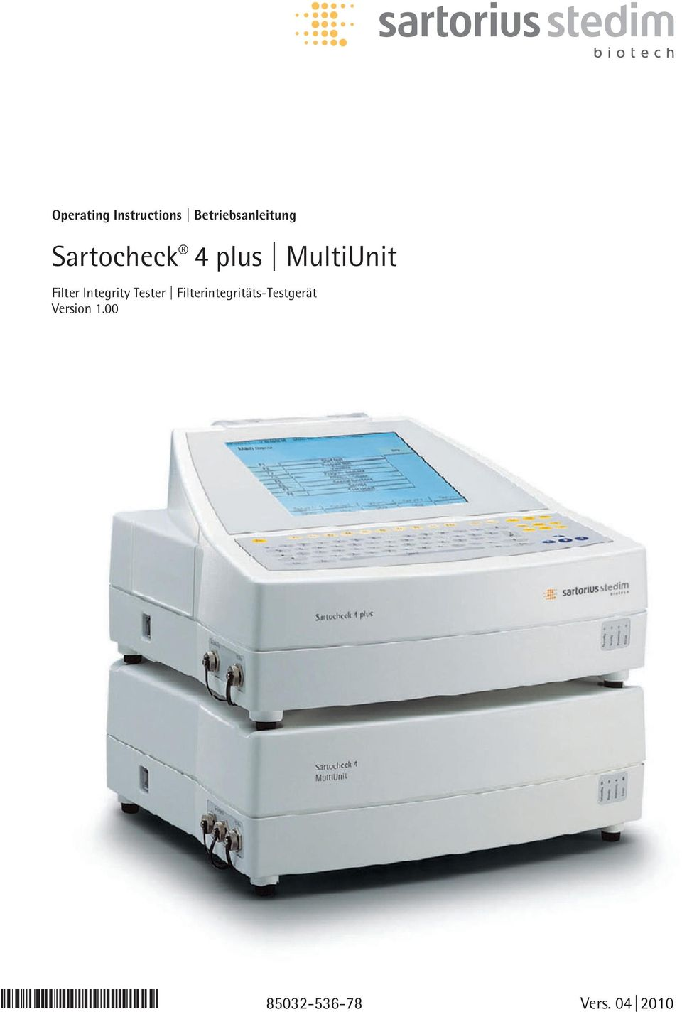 MultiUnit Filter Integrity Tester