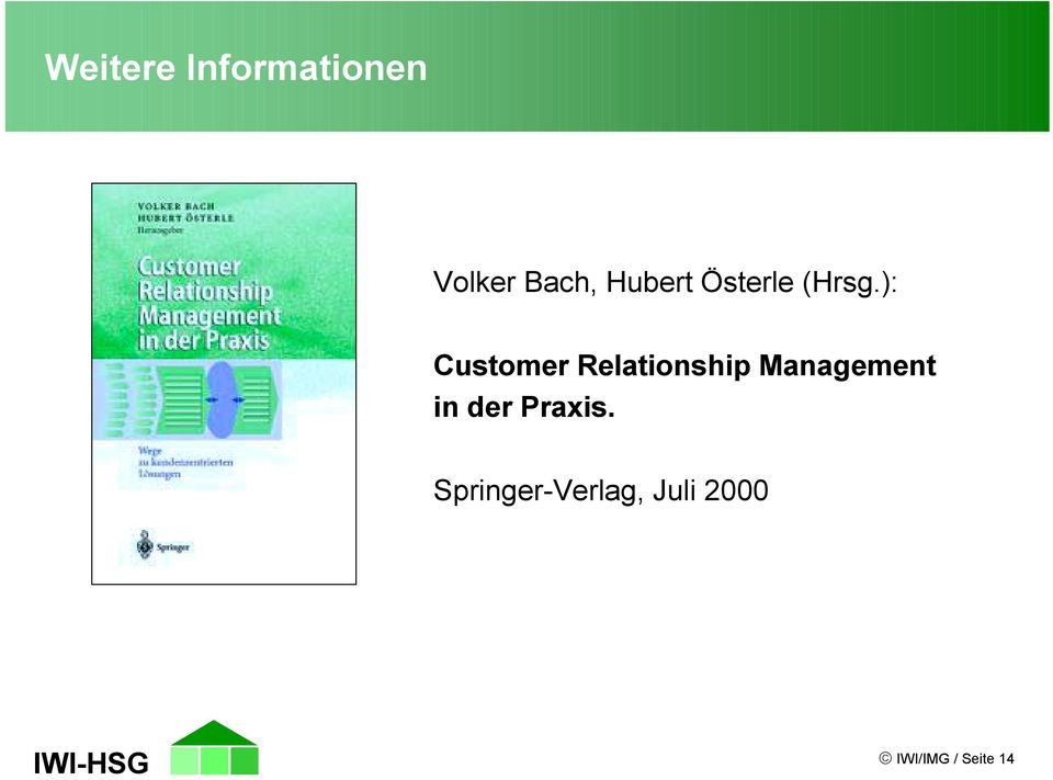 ): Customer Relationship Management