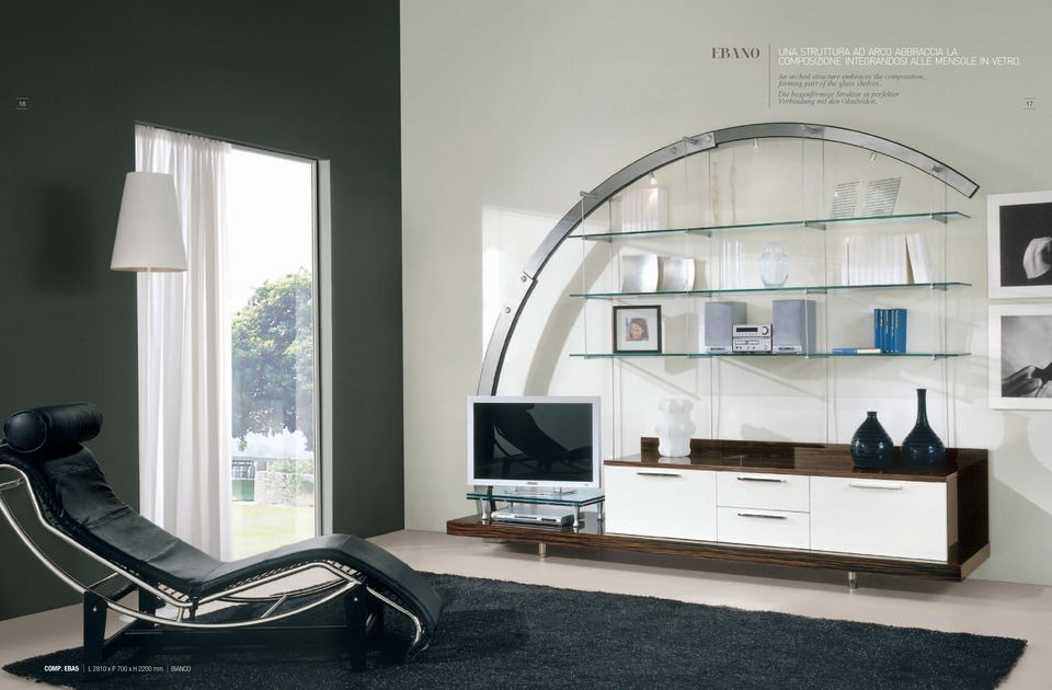 An arched structure embraces the composition, forming part of the