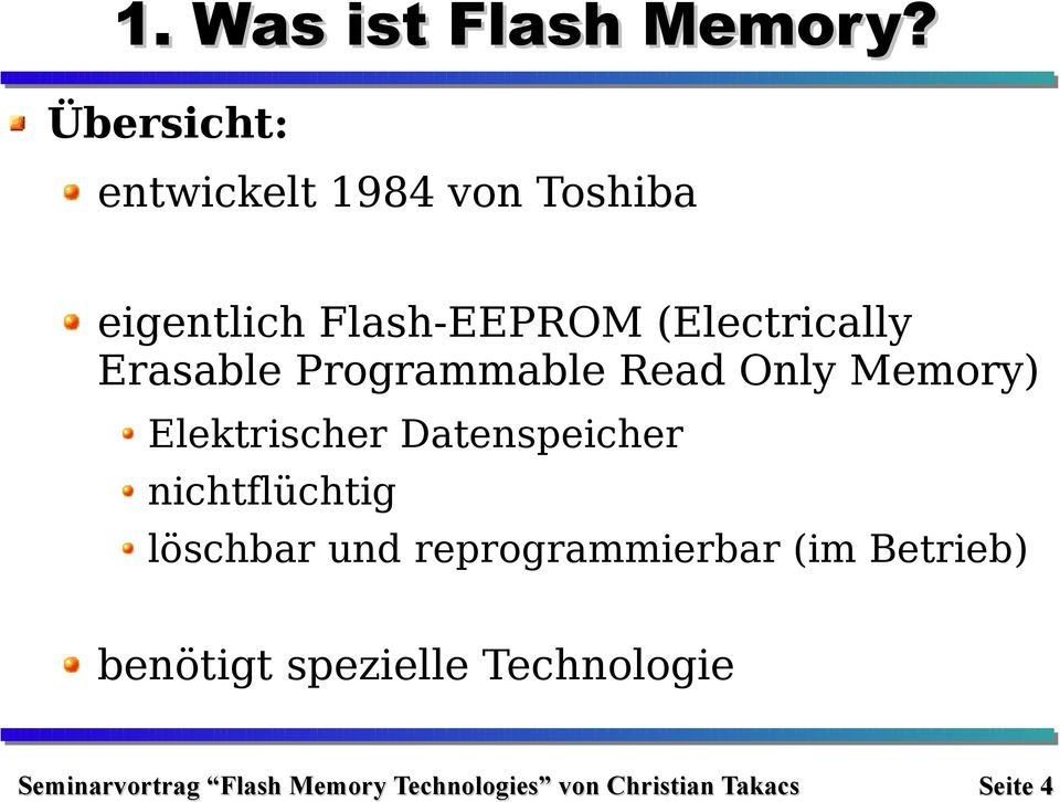 (Electrically Erasable Programmable Read Only Memory)
