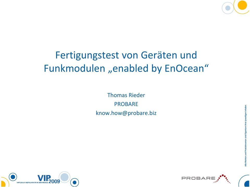 enabled by EnOcean Thomas