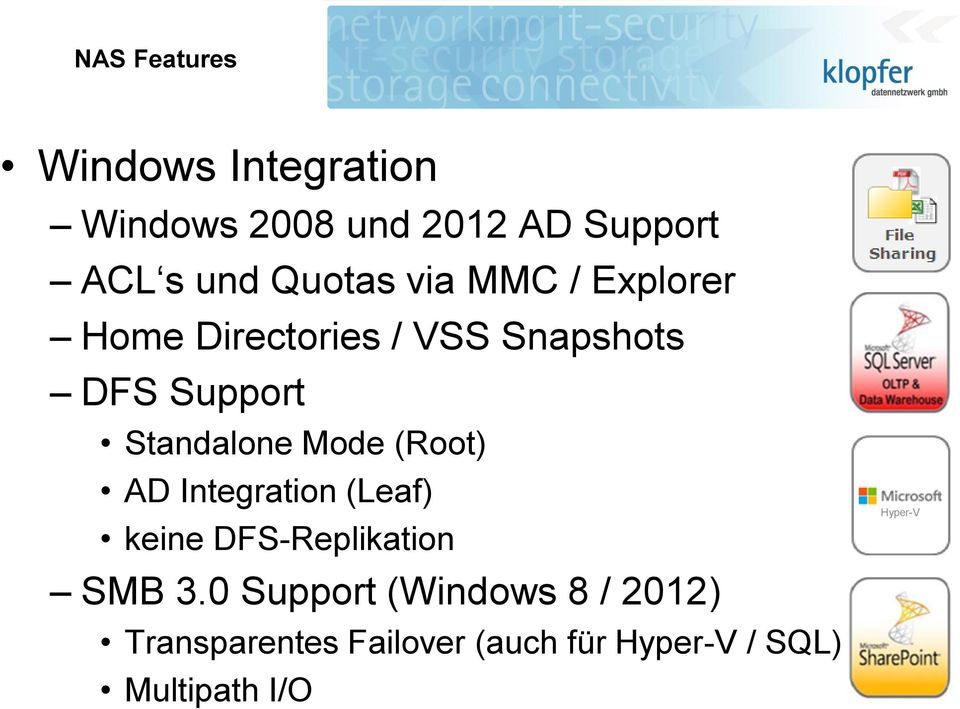Standalone Mode (Root) AD Integration (Leaf) keine DFS-Replikation SMB 3.