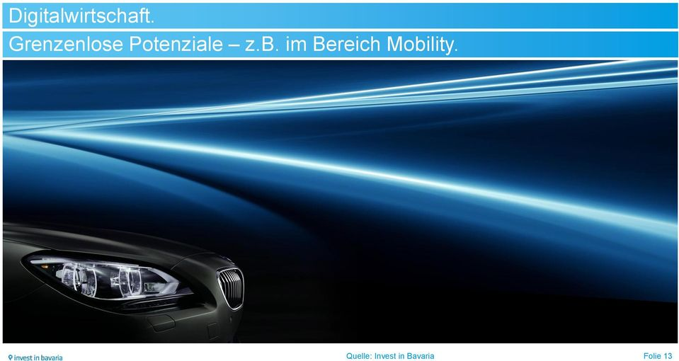 im Bereich Mobility.