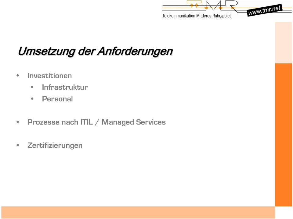 Personal Prozesse nach ITIL /