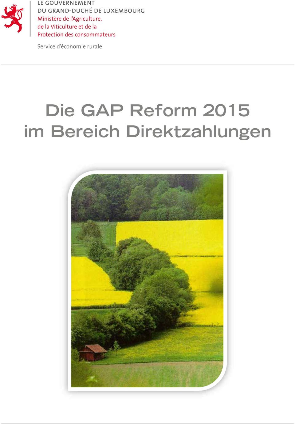 Die GAP Reform