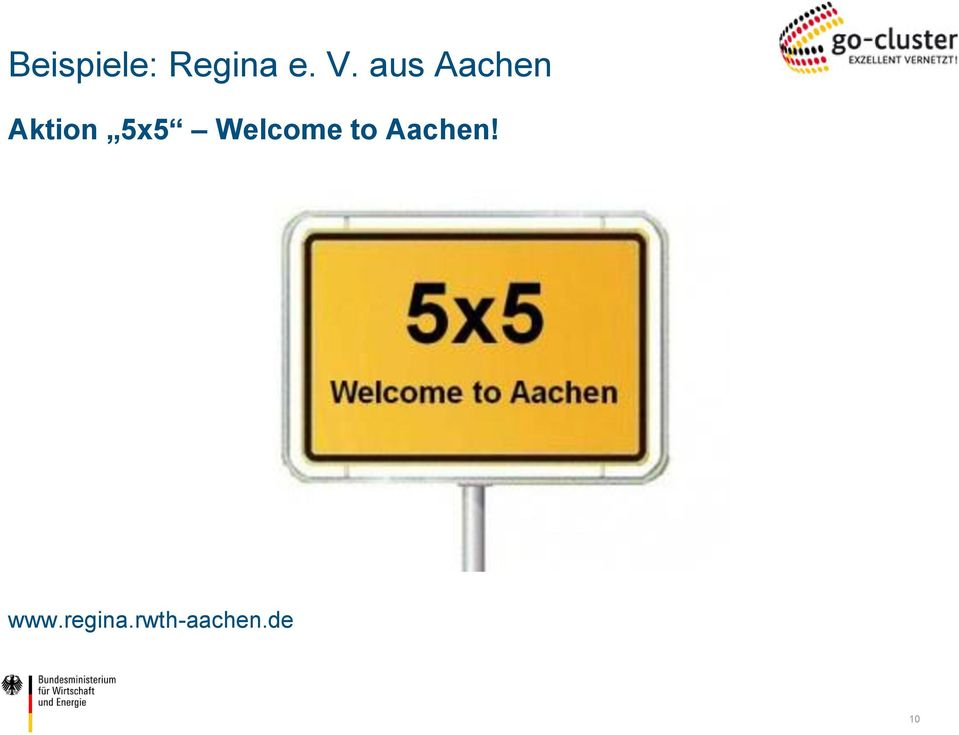 Welcome to Aachen! www.