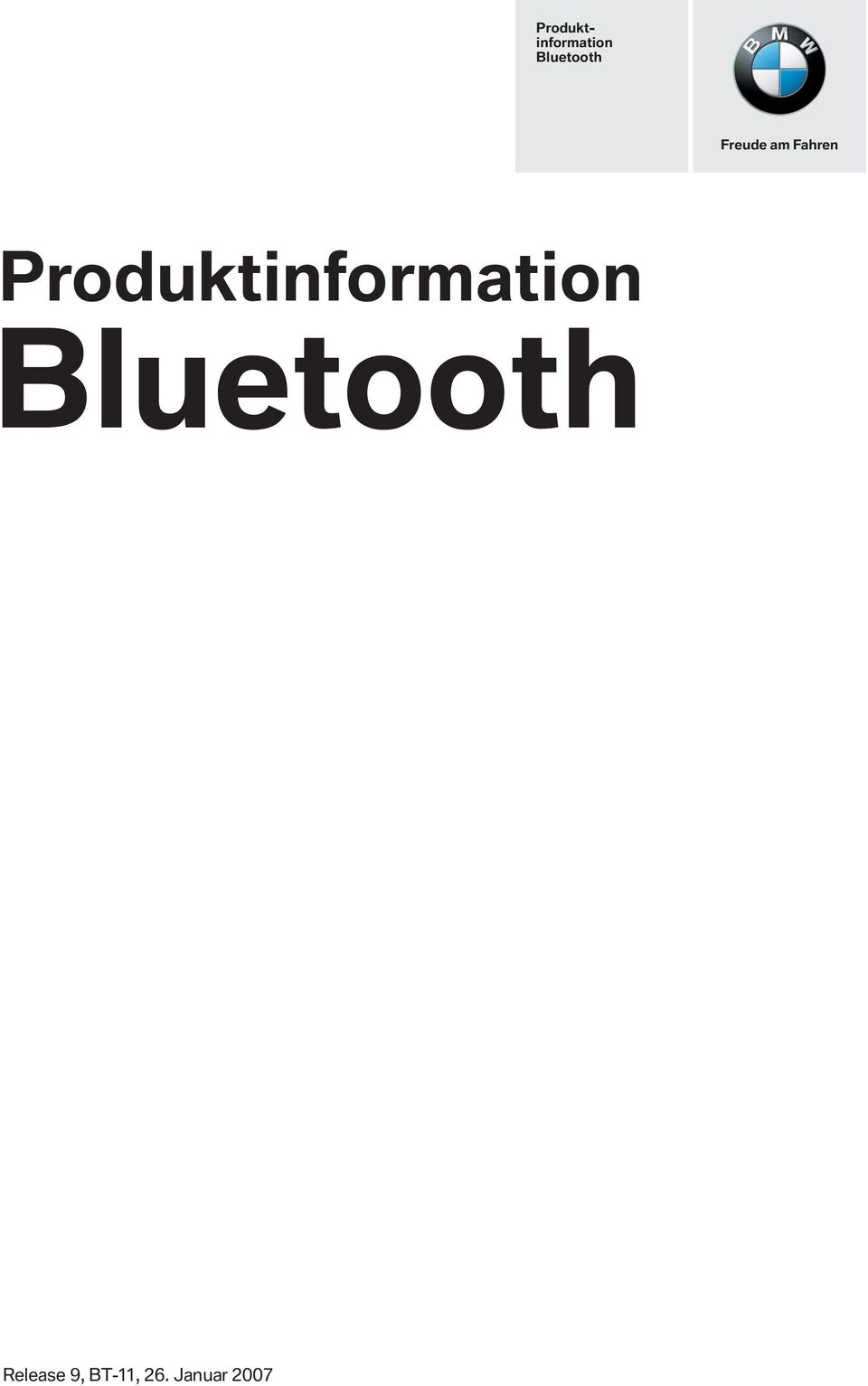Bluetooth Release 9,