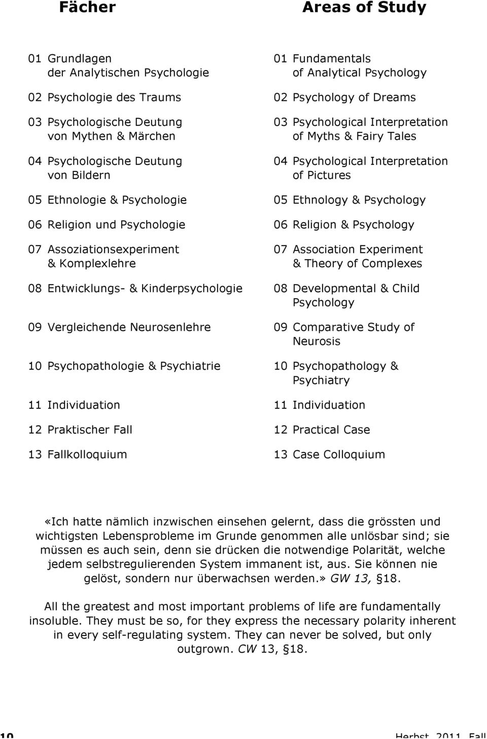 06 Religion und Psychologie 06 Religion & Psychology 07 Assoziationsexperiment & Komplexlehre 07 Association Experiment & Theory of Complexes 08 Entwicklungs- & Kinderpsychologie 08 Developmental &