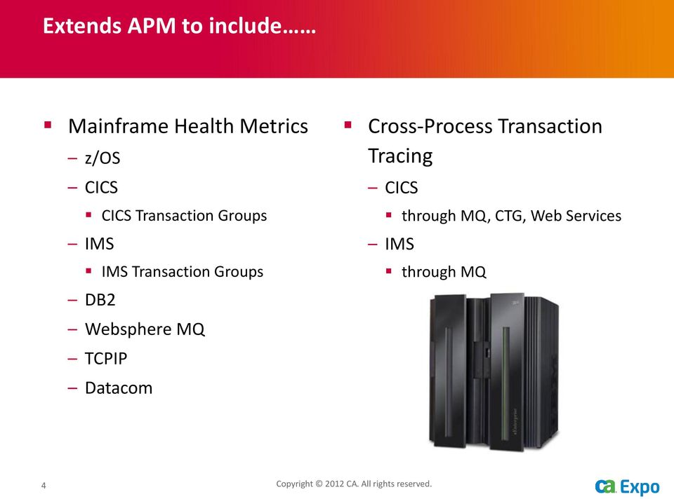 TCPIP Datacom Cross-Process Transaction Tracing CICS through MQ,