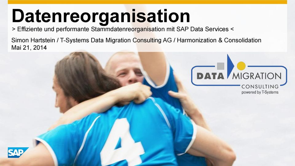 Simon Hartstein / T-Systems Data Migration