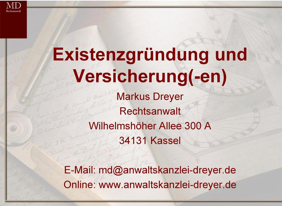 Allee 300 A 34131 Kassel E-Mail: