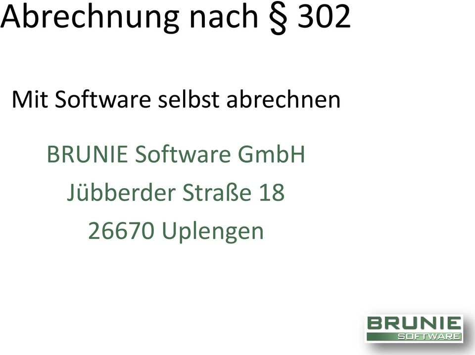 BRUNIE Software GmbH