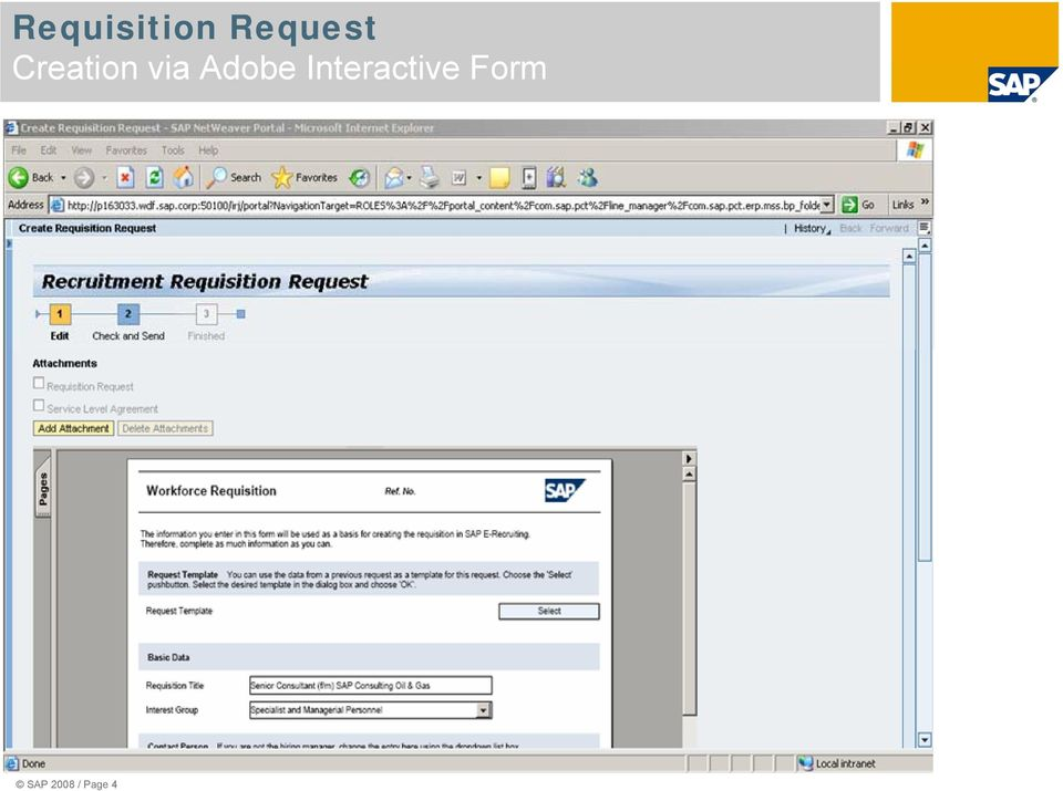 Sap Erp Hcm Manager Self Service For ERecruiting  New Function