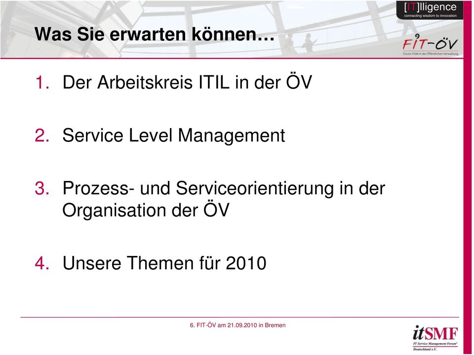 Service Level Management 3.