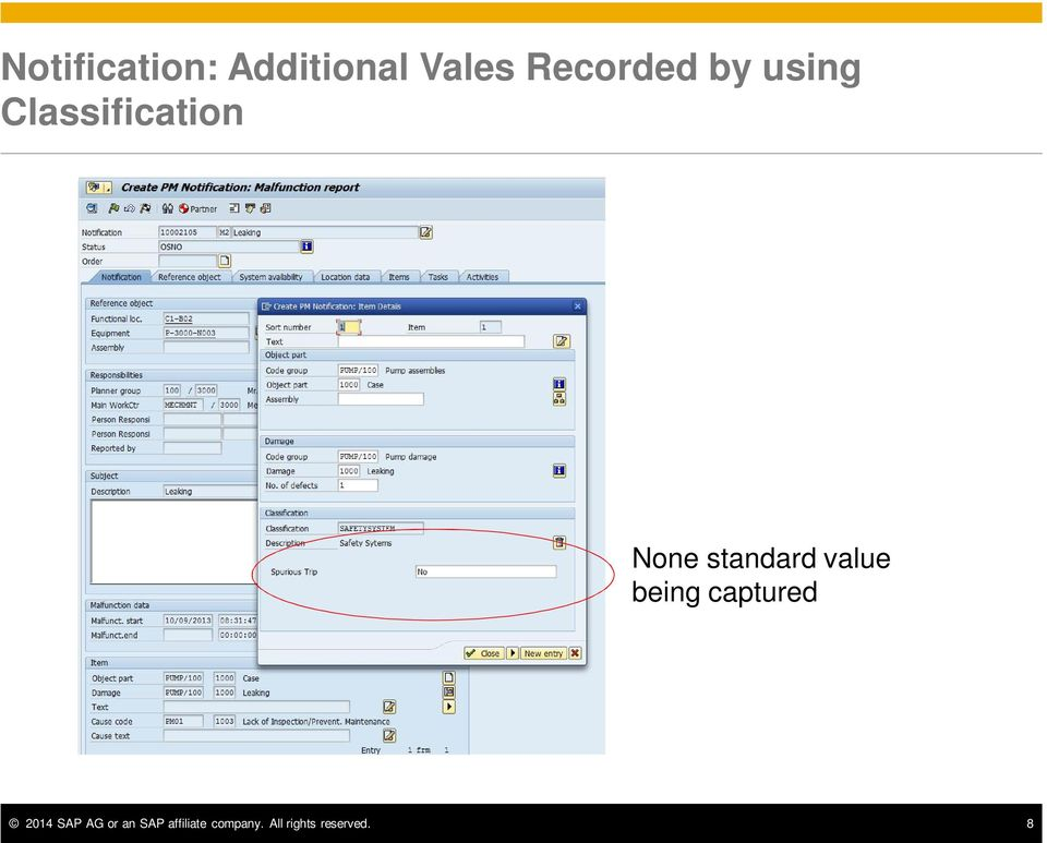 value being captured 2014 SAP AG or an