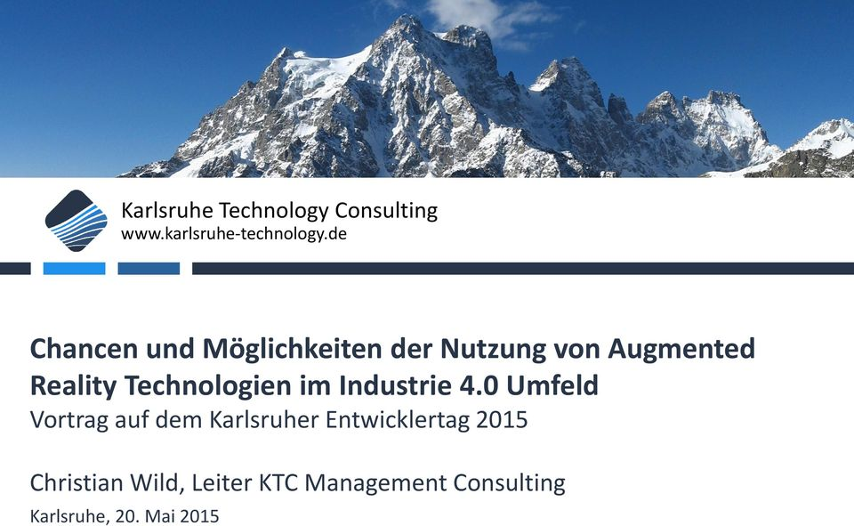 Technologien im Industrie 4.