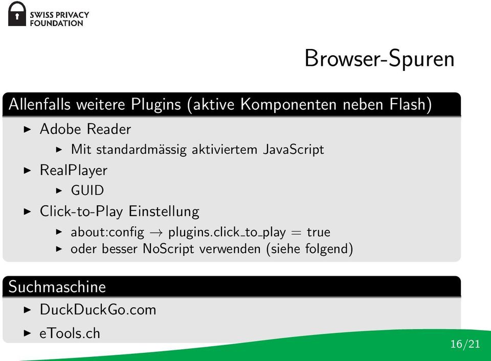 Click-to-Play Einstellung about:config plugins.