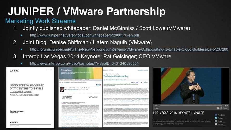 net/us/en/local/pdf/whitepapers/2000570-en.pdf 2. Joint Blog: Denise Shiffman / Hatem Naguib (VMware) http://forums.