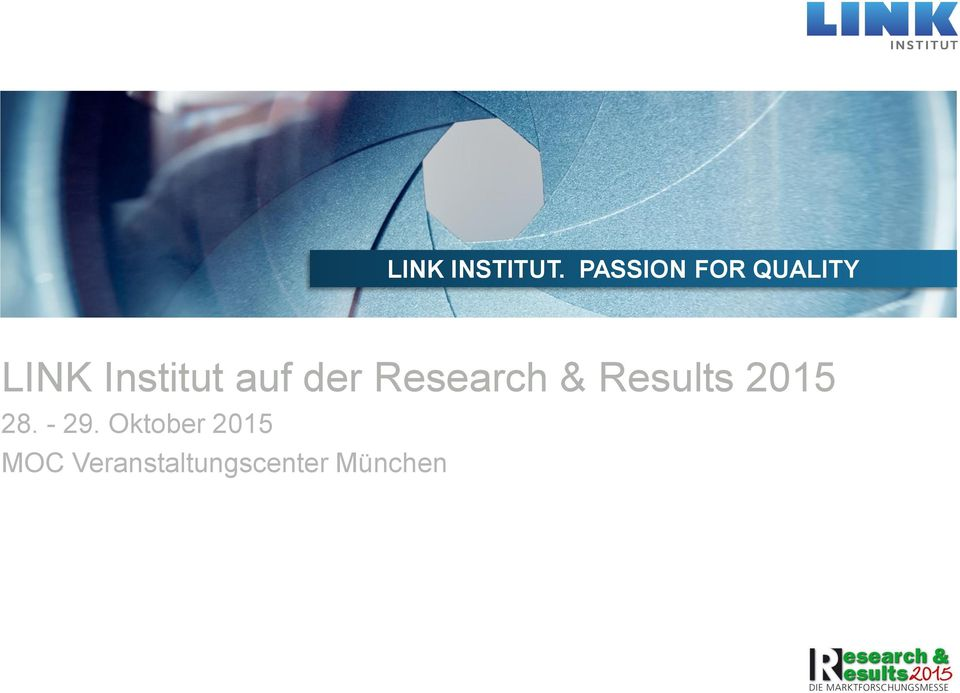 Research & Results 2015 28.