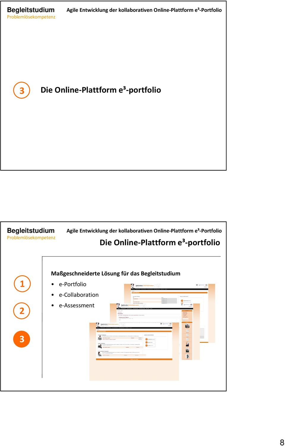 e-portfolio e-collaboration