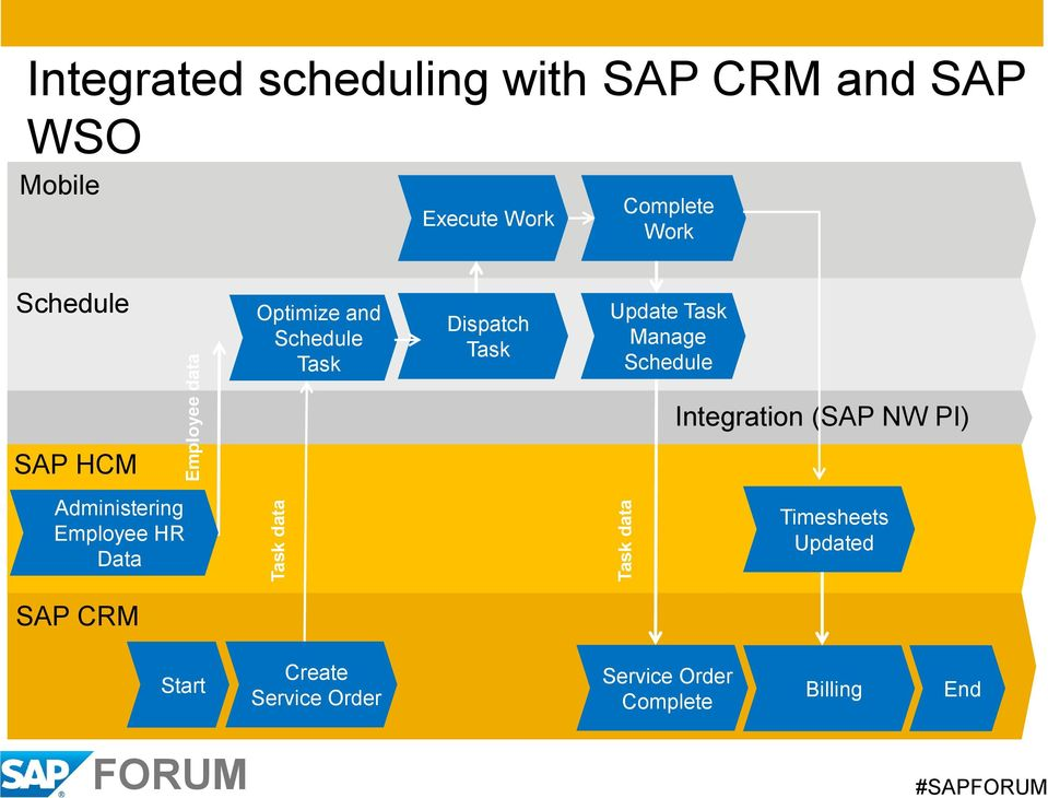 Update Task Manage Schedule SAP HCM Administering Employee HR Data Integration (SAP