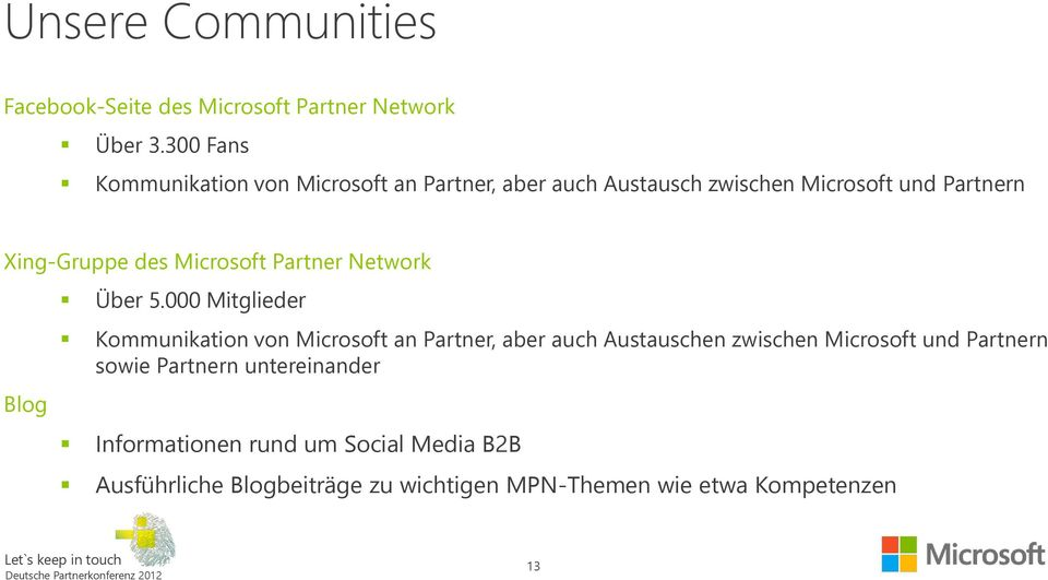 Microsoft Partner Network Blog Über 5.