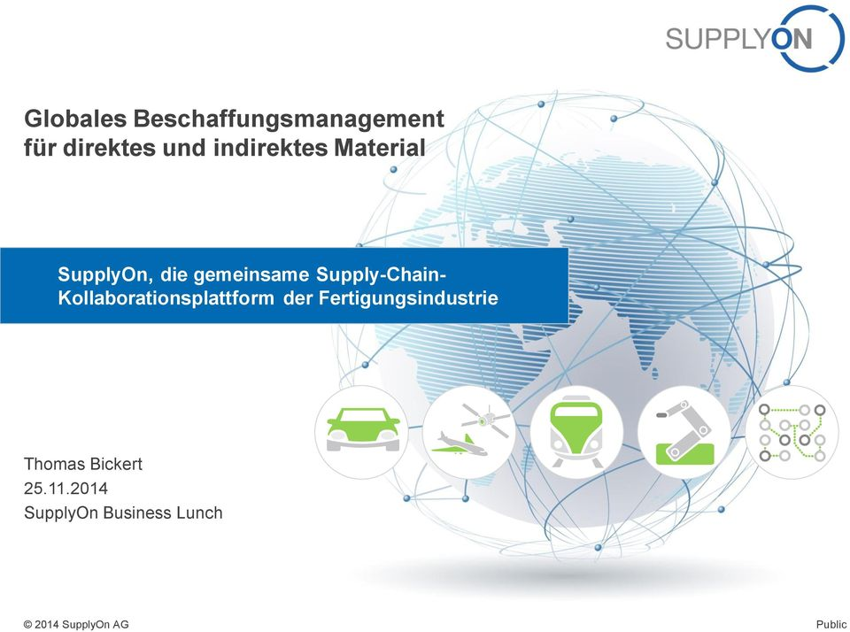 Supply-Chain- Kollaborationsplattform der