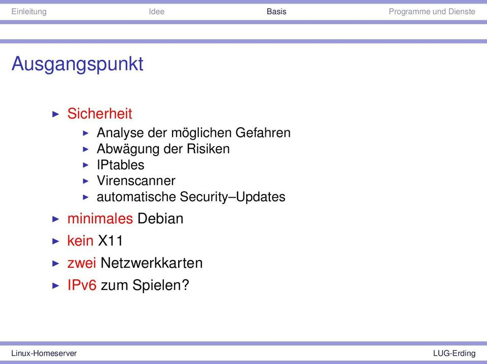 Virenscanner automatische Security Updates