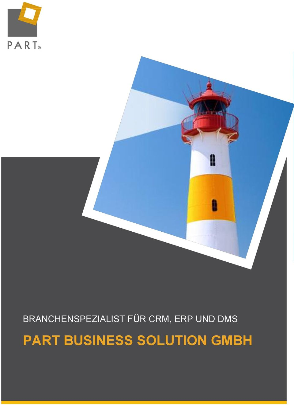 SOLUTION GMBH PART Partner