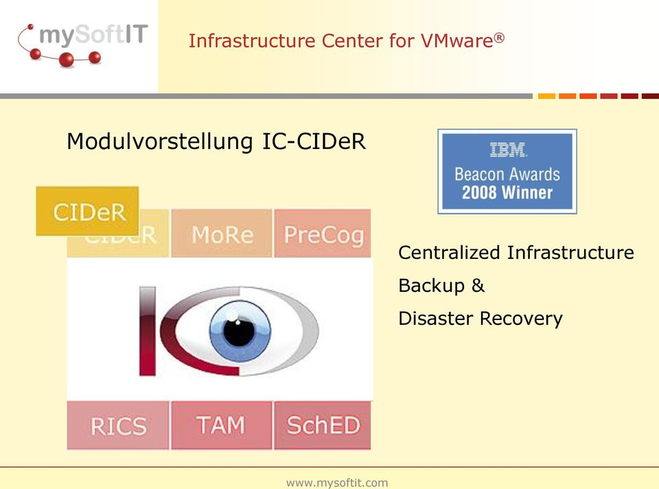 IC-CIDeR Centralized