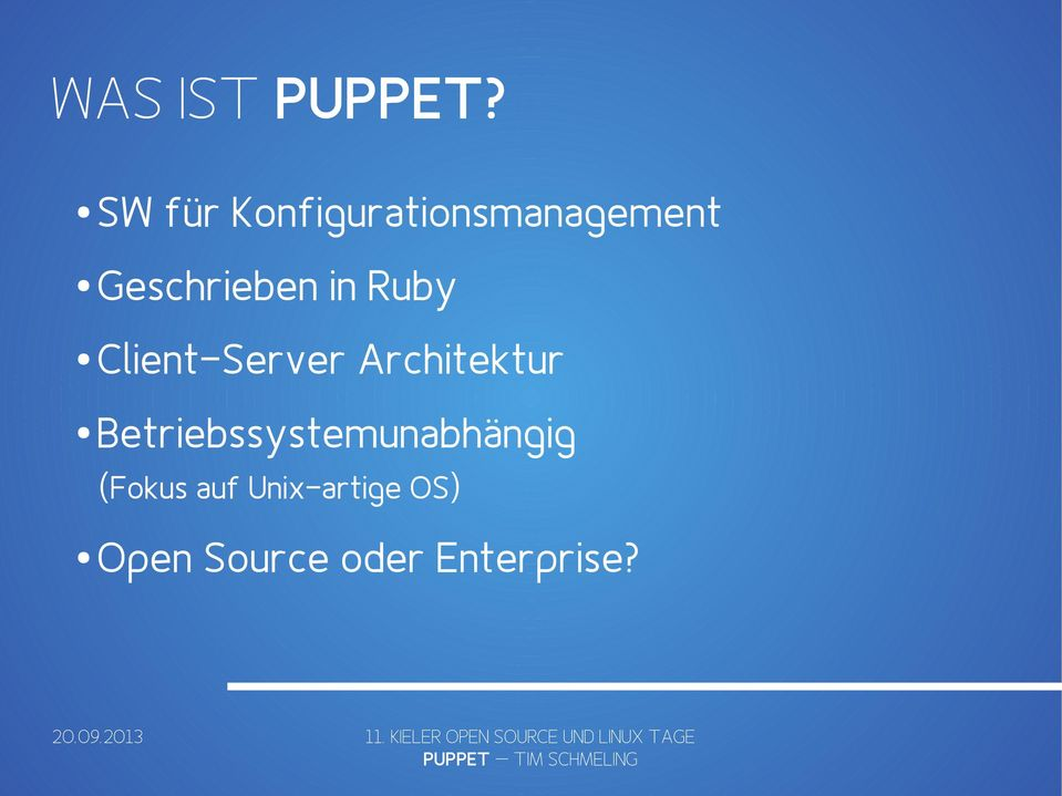 in Ruby Client-Server Architektur