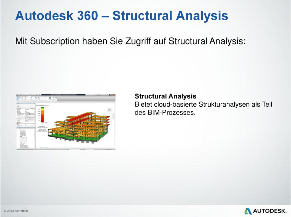 Structural Analysis: Structural Analysis