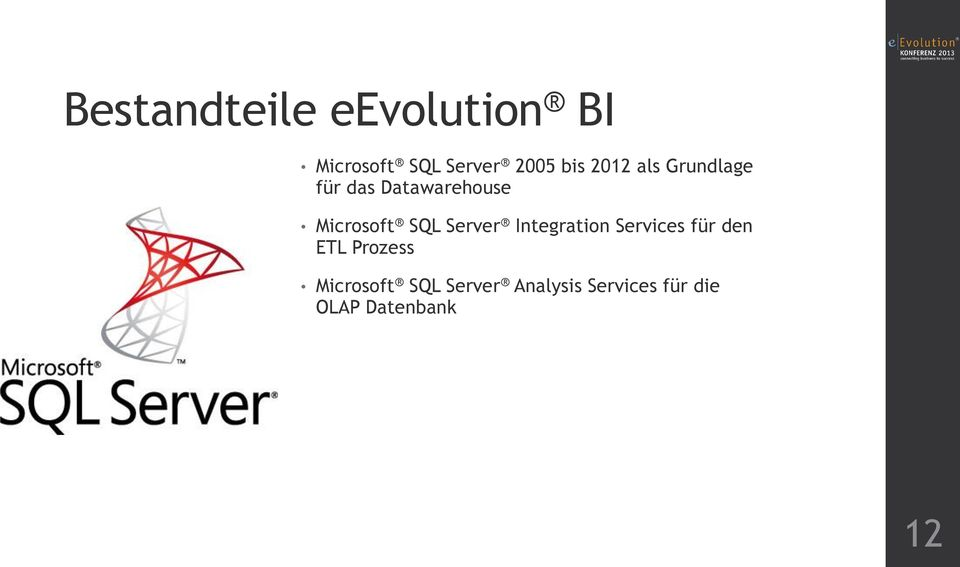 SQL Server Integration Services für den ETL Prozess
