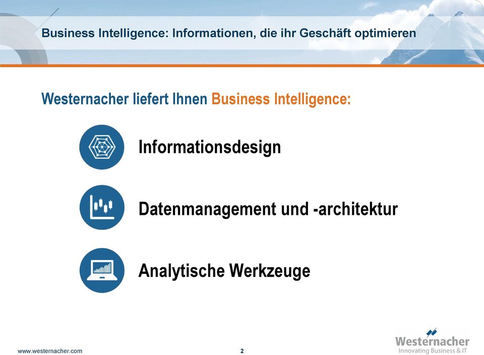 Business Intelligence: Informationsdesign