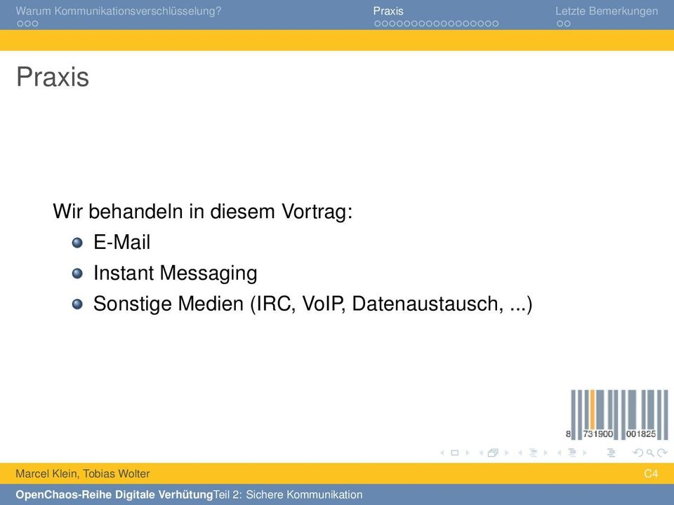 Instant Messaging Sonstige