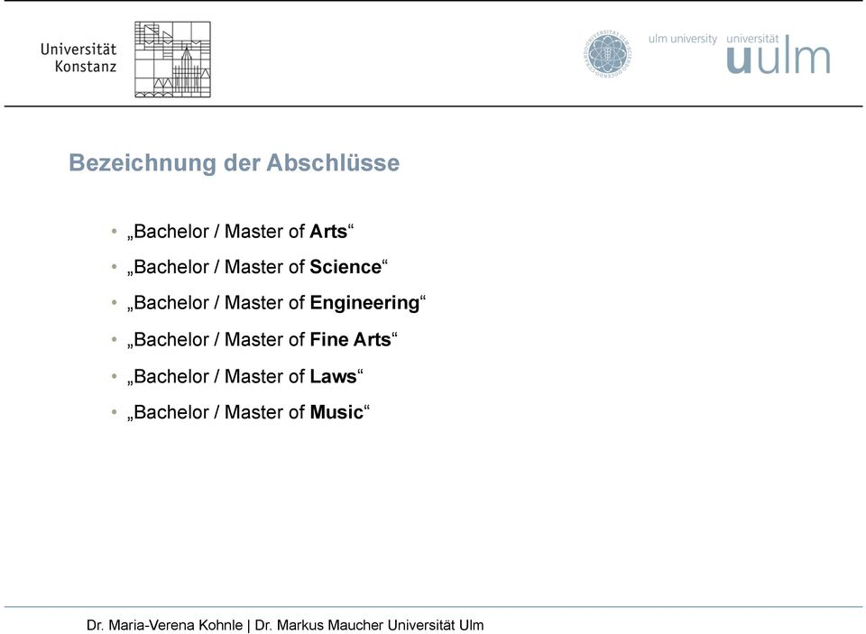 Master of Engineering Bachelor / Master of Fine
