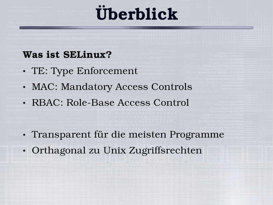Controls RBAC: Role Base Access Control