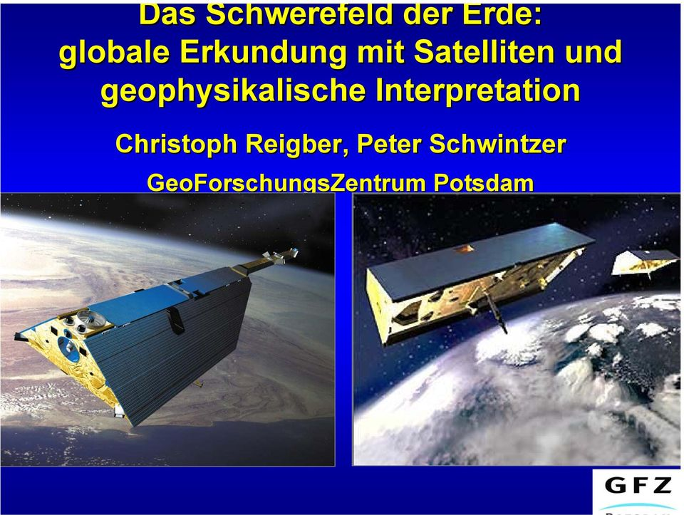 geophysikalische Interpretation