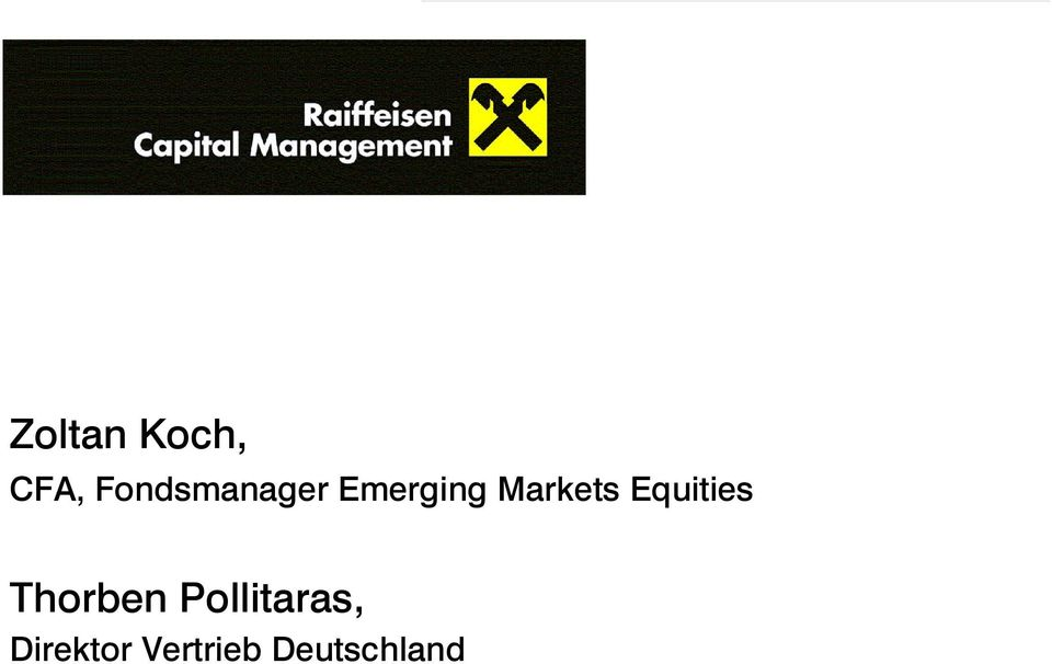 Markets Equities Thorben