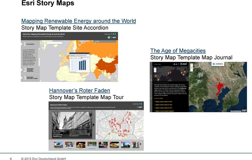 Megacities Story Map Template Map Journal Hannover s